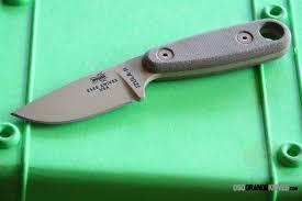 esee knives izula ii desert tan blade tan canvas micarta handles