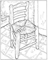 coloring page for van vincent van gogh coloring pages van starry night coloring pages