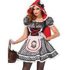 Red Riding Hood Costume Hello Kitty Red Riding Hood Costume For Women Womens Cosplay Costume