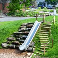 Backyard Playground Slides by Best 25 Playgrounds Ideas On Pinterest Playground Ideas