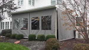 Clear Vinyl Curtains For Porch Clear Vinyl Plastic Enclosures For Porch Patio