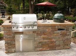 backsplash ideas for small kitchen kitchen simple outdoor kitchen counter and brown brick outdoor