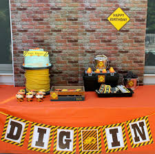 construction birthday party customer party construction birthday party dimple prints