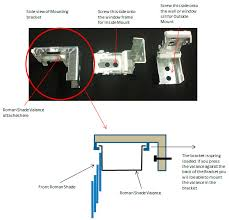 Replacement Brackets For Roller Blinds Gorgeous Roman Shade Mounting Hardware And Awnings Shades And