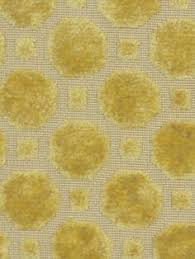 Upholstery Fabric Geometric Pattern Modern Upholstery Lemon Yellow Fabric By The Yard Via Etsy Re