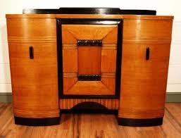 art deco drinks cabinet oak art deco sideboard cocktail cabinet industrial romance