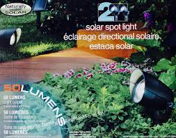 Spot Solar Lights by Naturally Solar Spot Lights Led 50 Lumens All Weather Ground 8