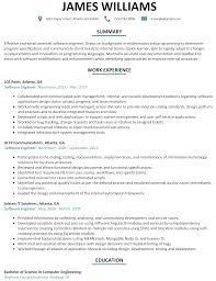 30 best developer software engineer resume templates wisestep