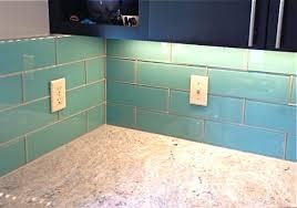simple amazing aqua glass tile backsplash best 25 glass tile