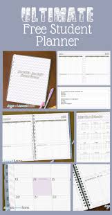 daily planner free template 453 best templates images on pinterest free printables planner free student june june planner download place for homework month week and