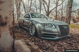 slammed audi a6 audi a6 spruced up by vossen u2014 carid com gallery