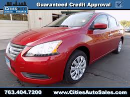 red nissan sentra used 2014 nissan sentra sv crystal mn cities auto sales and