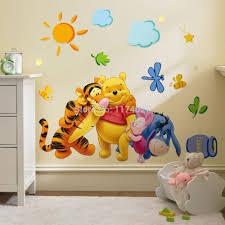 baby bear cartoon diy wallpaper for kids rooms sofa bedroom house