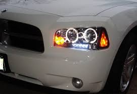 2008 dodge charger lights dodge charger projector headlights halo led 05 06 07 08 09 15