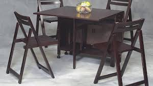 Folding Table And Chair Sets Awesome Stunning Folding Table Chair Set Wooden Folding