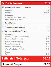 Avis Car Rental Port Canaveral Priceline One Way Rental Flyertalk Forums