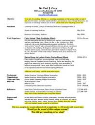 Veterinarian Resume Examples Sample Resume Vet Tech Major Resume U0026 Cover Letter Pinterest