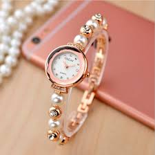 pearl bracelet watches images Hot sales rose gold pearl bracelet watches women ladies fashion jpg