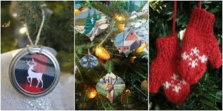A Christmas Carol Ornaments 55 Homemade Christmas Ornaments Diy Crafts With Christmas Tree