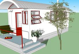 custom home designers utilize sketchup for brilliant results 260 sq ft no loft tiny house design