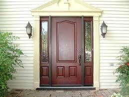 Exterior Door With Side Lights Entry Doors Side Lights Single Front Door With Sidelight That