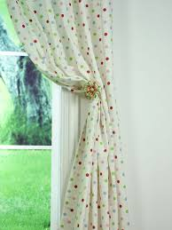 Polka Dot Curtains Alamere House Polka Dot Printed Cotton Fabric Sle