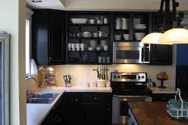 How To Color Kitchen Cabinets How To Decorate Kitchen With Black Cabinets Diy U2014 Smith Design
