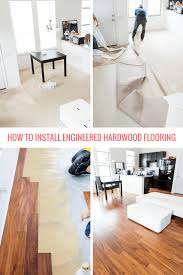 how to install engineered hardwood floors titandish decoration