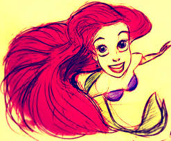 ariel sketch disney princess 29630253 440 363 jpg 440 363 pixels