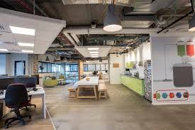 creative office interior design fortscale offices at tel aviv