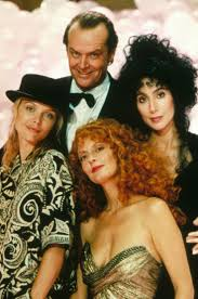 cher susan sarandon pfeiffer in witches of eastwick