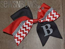 bows for cheer bows for team spirit sewsnbows