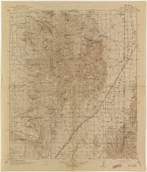Map Of Arizona Cities Arizona Historical Topographic Maps Perry Castañeda Map