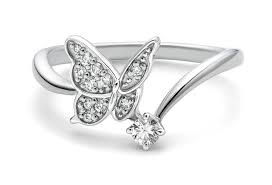 butterfly engagement rings nature inspired engagement rings engagement rings depot