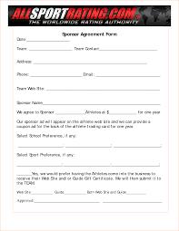 bookkeeper resume sample sponsorship template form doc 12751650 word template forms athlete sponsorship contract template sample bookkeeper resume