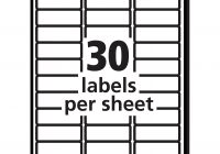 2 X 4 Label Template 10 Per Sheet 2 X 4 Label Template 10 Per Sheet Professional Sles Templates