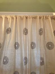 drop cloth curtains u2013 2 ways