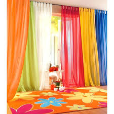 Sheer Curtains Tab Top Voile Sheer Curtains Plain Sheer Voile Tab Top Panels Curtains In