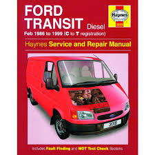 ford transit 2 5 diesel 1986 99 c to t reg haynes manual ebay