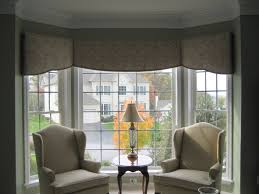 window bay window curtain ideas curved curtain rod for bay