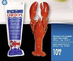 cuisiner homard surgelé cuisiner un homard congelé 100 images homard canadien ou homard