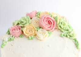 buttercream flower cake the simple sweet life
