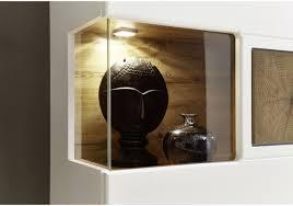 Schlafzimmer Set Mit Led Beleuchtung Vitrine 2er Set In Weiss Matt Eiche Altholz Mit Led Beleuchtung