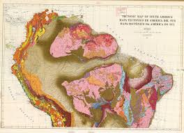 Maps Of South America by Tectonic Map Of South America Esdac European Commission
