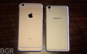 design iphone oppo f1 plus vs apple iphone 6s plus design comparison bgr india