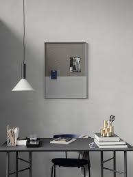 Pin Board Frame Pinboard Grey Large