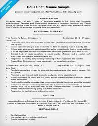 Demi Chef De Partie Resume Sample Chef Resumes Chef Resume Resume Cv Cover Letter Related Image Of