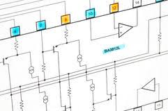 schematic diagram royalty free stock image image 5150286