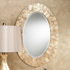 2 lovely oval vanity mirror home idea