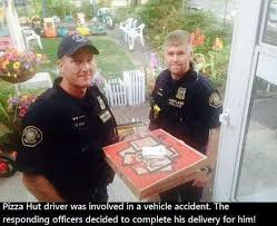 Pizza Delivery Meme - police deliver pizza funny pictures quotes memes funny images